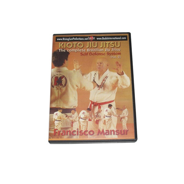 Kioto Brazilian Jiu JItsu Defense Weapons Cutters Firearms #2 DVD Mansur