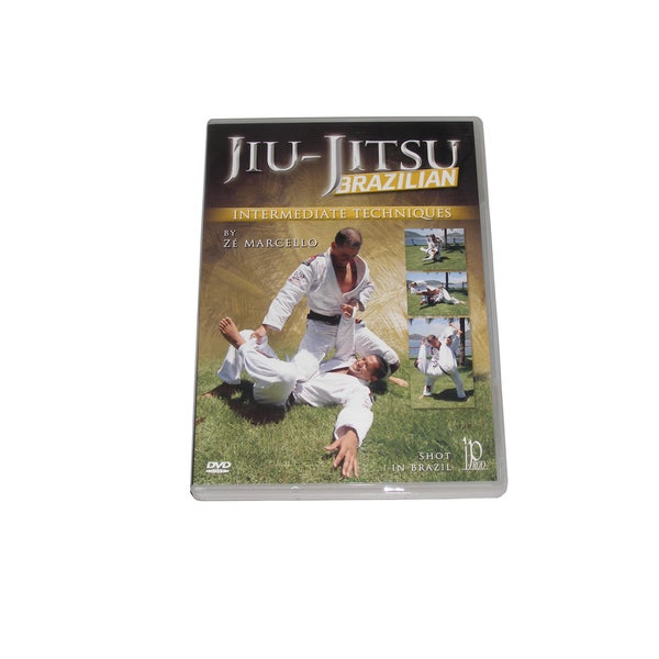 Brazilian Jiu Jitsu Intermediate Techniques DVD Ze Marcello ground free fighting
