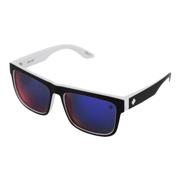 0589830822e0c Spy Optic Discord Square White Wall Black and White 57mm Sunglasses