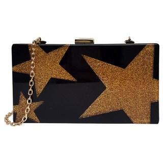 Pink Haley 'Gold Star' Clutch