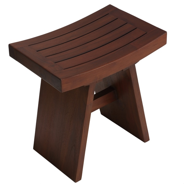 Bare Decor Sofi Shower Stool in Solid Teak Wood - Free Shipping ...
