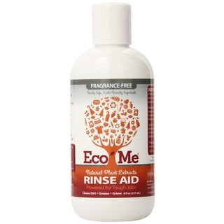 Eco-Me All Natural Fragrance Free 8-ounce Dish Rinse Aid (Pack of 6) - White