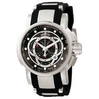 Invicta Men's 0893 S1 Rally Quartz Chronograph Black Dial Watch