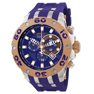 Invicta Men's 0910 Subaqua Quartz Chronograph Blue Dial Watch