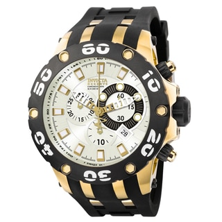 Invicta Men's 0915 Subaqua Quartz Chronograph Silver Dial Watch