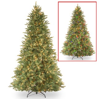 7.5 ft. PowerConnect Tiffany Fir Tree with Dual Color® LED Lights