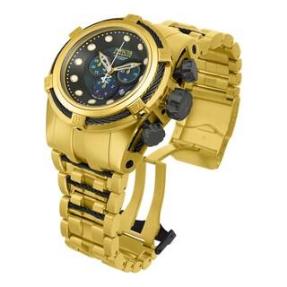 Invicta Men's 12741 Bolt Quartz Chronograph Gunmetal Dial Watch