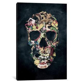 iCanvas Vintage Skull by Ali Gulec Canvas Print
