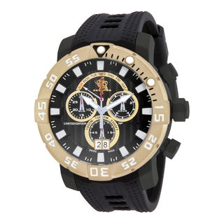 Invicta Men's 14254 Sea Base Quartz Multifunction Black, White Dial Watch
