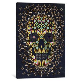 iCanvas Skull #6 by Ali Gulec Canvas Print