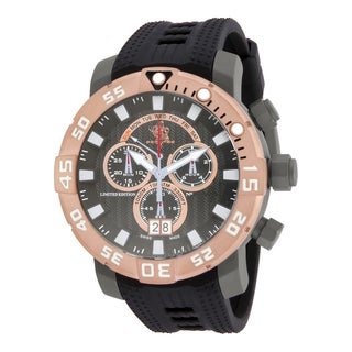 Invicta Men's 14260 Sea Base Quartz Multifunction Gunmetal Dial Watch