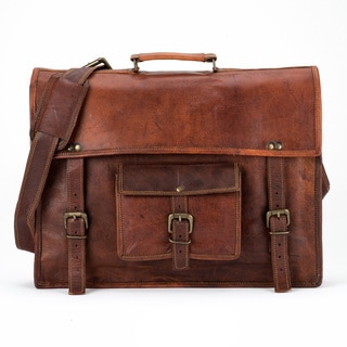 Satch and Fable SXXLP 18-inch Leather Briefcase