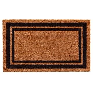 Black Border Doormat (1'6 x 2'6)