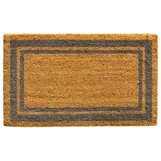Periwinkle Border Doormat (1'6 x 2'6)