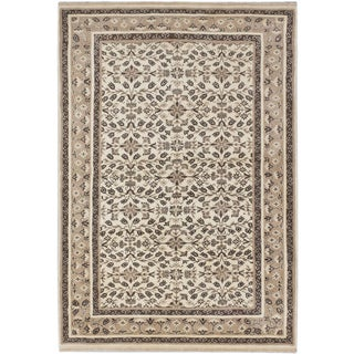 Ecarpetgallery Finest Agra Jaipur Beige Wool Area Rug (4' x 7')