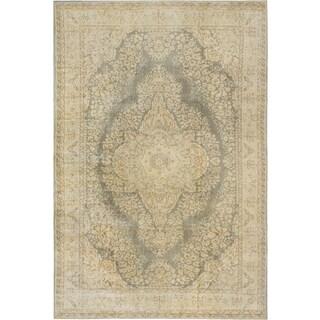 Ecarpetgallery Anatolian Sunwash Beige/ Grey Wool Area Rug (6' x 10')