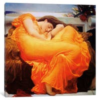 iCanvas Flaming June by Frederick Leighton Canvas Print