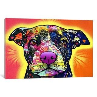 iCanvas Love A Bull by Dean Russo Canvas Print