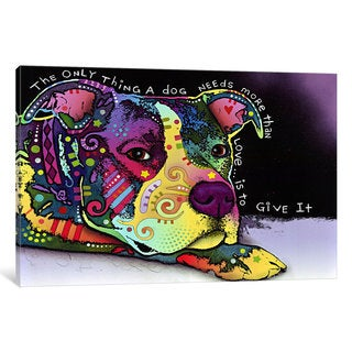 iCanvas Affection by Dean Russo Canvas Print
