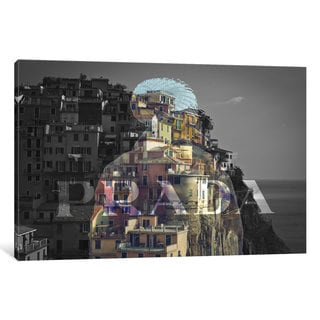 iCanvas Overlooking Paradise by 5by5collective Canvas Print