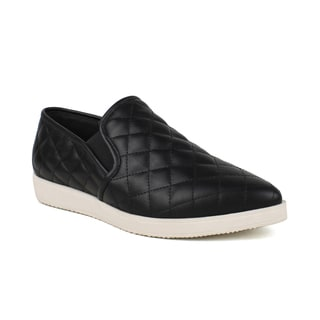 Fahrenheit Women's Pointy-toe Women's Quilted Sneakers