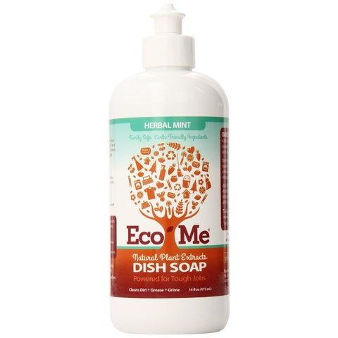 Eco-Me All Natural 16-ounce All Purpose Dish Soap (Pack of 6)