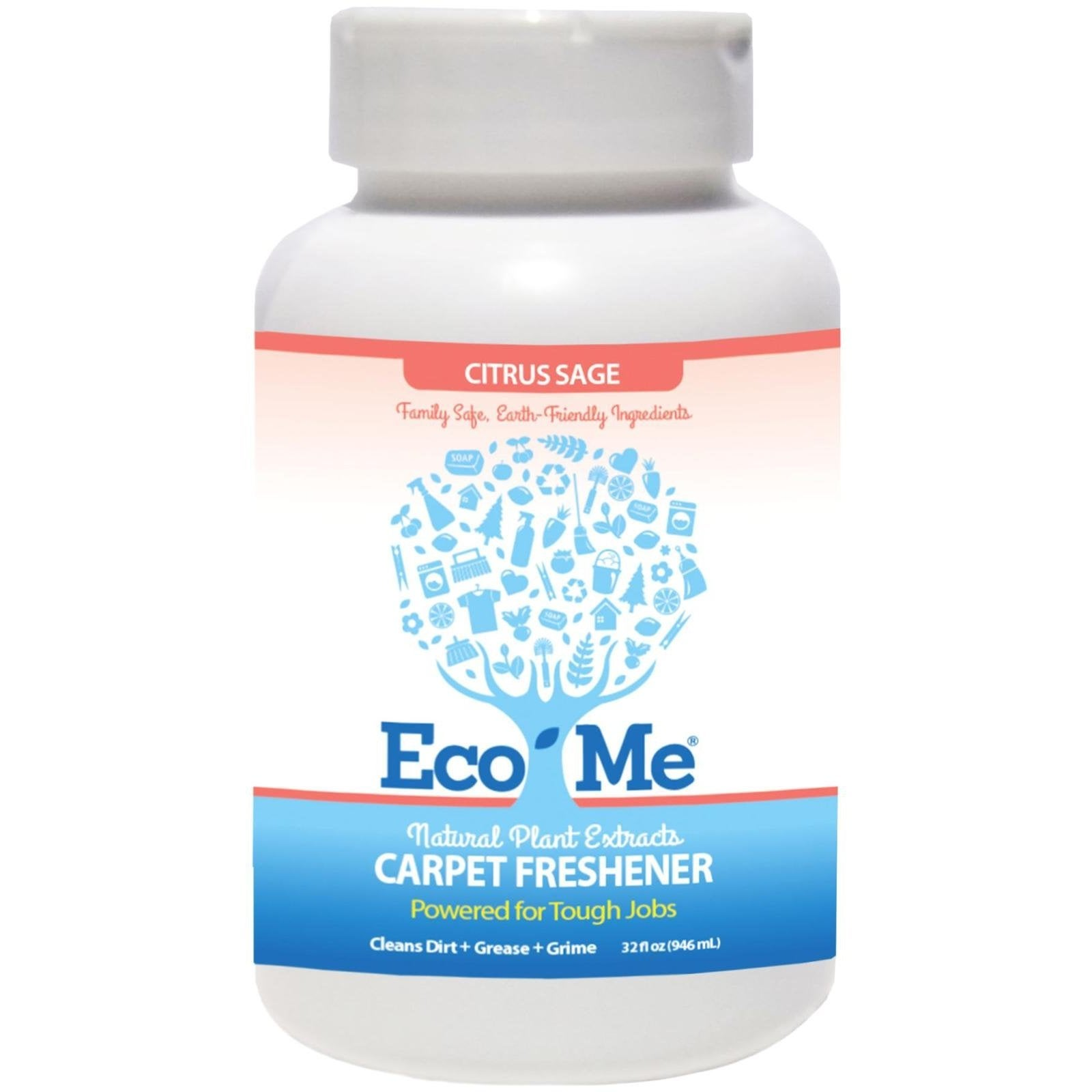 KITTRICH CORP. Eco-Me 32-ounce All Natural Citrus Sage Ca...