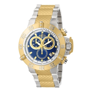 Invicta Men's 15946 Subaqua Quartz Chronograph Blue Dial Watch