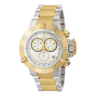 Invicta Men's 15947 Subaqua Quartz Chronograph Silver Dial Watch