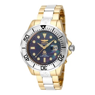 Invicta Men's 16034 Pro Diver Automatic 3 Hand Black Dial Watch