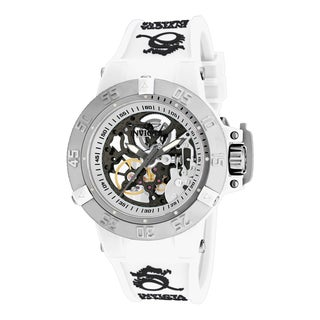 Invicta Women's 17137 Subaqua Mechanical 3 Hand Silver Dial Watch