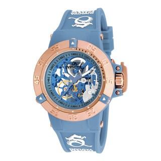 Invicta Women's 17142 Subaqua Mechanical 3 Hand Blue Dial Watch