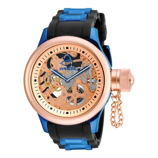 Invicta Men's 17270 Russian Diver Mechanical 2 Hand Rose Gold Dial Watch