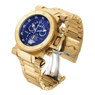 Invicta Men's 17644 Coalition Forces Quartz Chronograph Blue Dial Watch