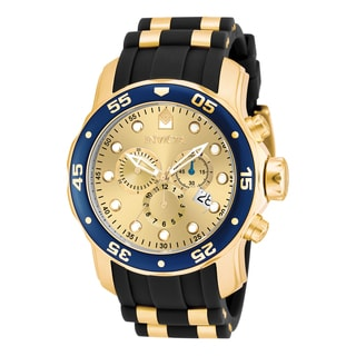 Invicta Men's 17881 Pro Diver Quartz Multifunction Champagne Dial Watch