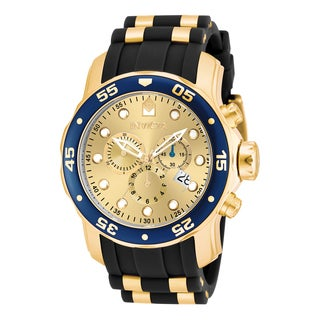 invicta men s watches shop the best deals for 2017 invicta men s 17881 pro diver quartz multifunction champagne dial watch
