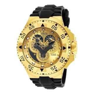 Invicta Men's 18557 Excursion Quartz Multifunction Gold Dial Watch