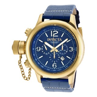 Invicta Men's 18577 Russian Diver Quartz 3 Hand Blue Dial Watch