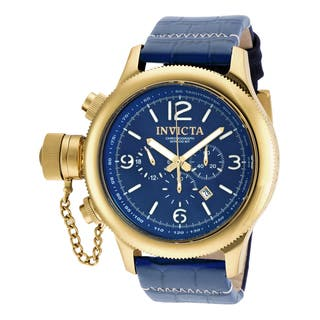 Invicta Men's 18577 Russian Diver Quartz 3 Hand Blue Dial Watch|https://ak1.ostkcdn.com/images/products/10631171/P17700176.jpg?impolicy=medium