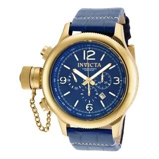 Invicta Men's 18577 Russian Diver Quartz 3 Hand Blue Dial Watch