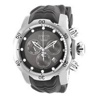 Invicta Men's 19011 Venom Quartz Chronograph Black, Grey Dial Watch