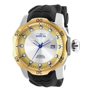 Invicta Men's 19312 Venom Automatic 3 Hand Gold, Antique Silver Dial Watch https://ak1.ostkcdn.com/images/products/10631202/P17700204.jpg?impolicy=medium