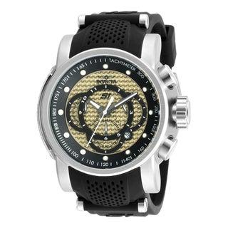 Invicta Men's 19321 S1 Rally Quartz Multifunction Ivory Dial Watch