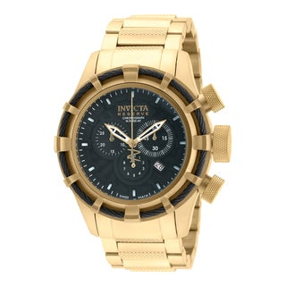 Invicta Men's 19522 Bolt Quartz Chronograph Black Dial Watch