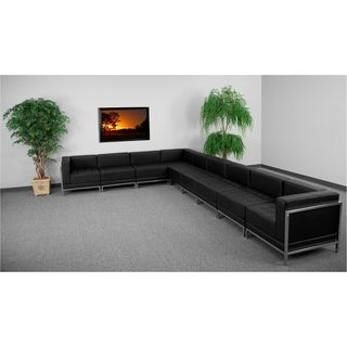 Hercules Imagination Series Leather Sectional 9-piece Configuration