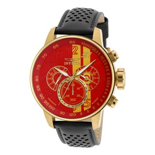 Invicta Men's 19904 S1 Rally Quartz Multifunction Red, Yellow Dial Watch