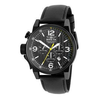 Invicta Men's 20140 I-Force Quartz Chronograph Black Dial Watch