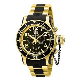 Invicta Men's 6633 Russian Diver Quartz Chronograph Black Dial Watch