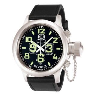 Invicta Men's 7000 Russian Diver Quartz Chronograph Black Dial Watch