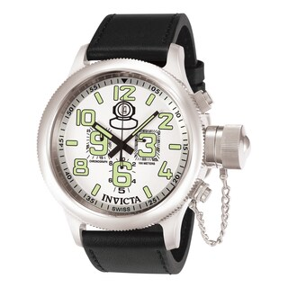 Invicta Men's 7001 Russian Diver Quartz Chronograph White Dial Watch